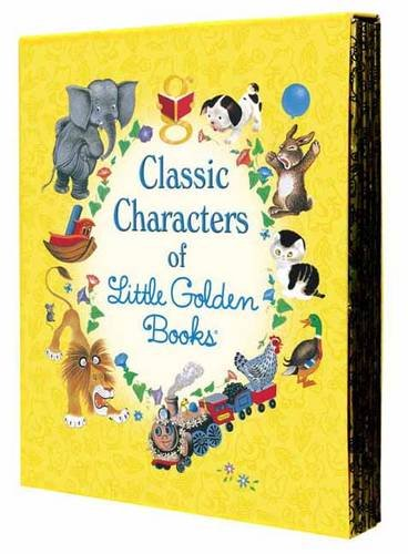 Classic Characters of Little Golden Books: The Poky Puppy, Tootle, the Saggy Baggy Elephant, Tawny Scrawny Lion, Scruffy the Tugboat