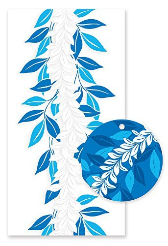 Hawaiian Candy Lei Kit Maile Blue - 1