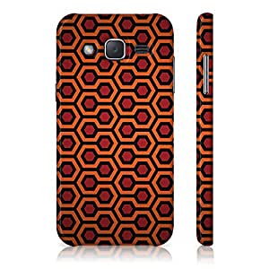 Samsung Galaxy J7 New 2016 Edition Honey Comb Pattern Printed Designer Mobile Phone Case Back Cover by Be Awara - Matte Finish