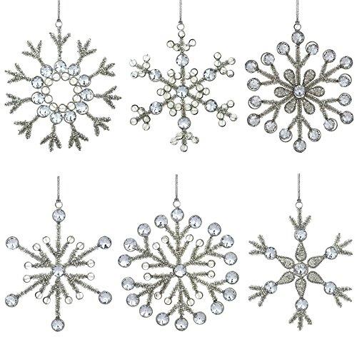 6 Handmade Snowflake