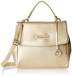 Lino Perros Women's Handbag (Golden)