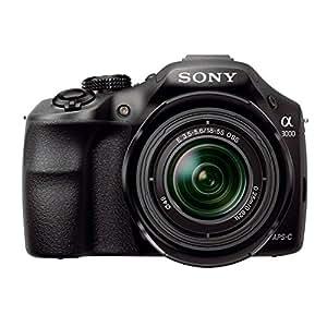"""Sony A3000 ILCE-3000KB.CE Kit Reflex Numérique 3"""" (7,62 cm) 20 Mpix USB/HDMI + Objectif 18-55 mm Noir"""