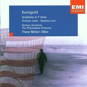 Korngold;Symphony in F Shar