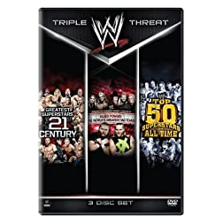 Best Of The Best Triple Feature (Allied Powers, Top 50 Superstars and Greatest Superstars of 21st Century)