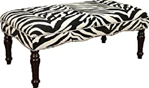 Kinfine Zebra Nail head Bench