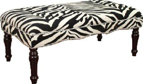 Zebra Bench Safari Bedding