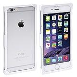 【RECTA】iPhone6 アルミバンパーケース ピュアホワイト4.7inch用