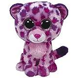TY 36811 - Glamour Leopard mit Glitzeraugen, Glubschi's, Beanie Boo's, XL, 42 cm, pink
