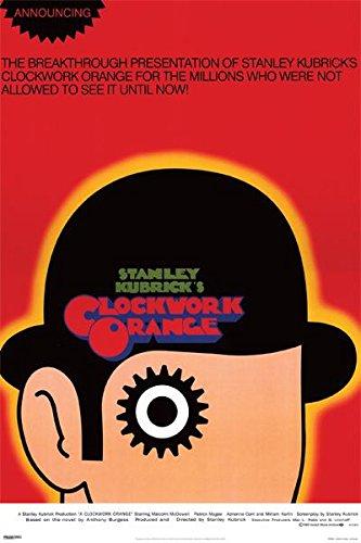Clockwork Orange Movie Poster Print