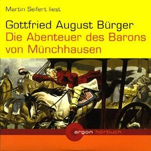 Die Abenteuer des Barons von Münchhausen Hörbuch