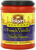 Folgers French Vanilla Coffee, 11.5 Ounce (Pack of 12)