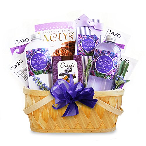 California Delicious Lavender Spa Getaway Gift Basket (Chocolate And Tea Gift Basket compare prices)