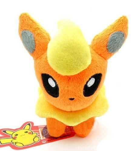 Pokemon: 6-inch Flareon Plush - 1