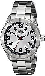 Invicta Men's 17925SYB Specialty Analog Display Japanese Quartz Silver Watch