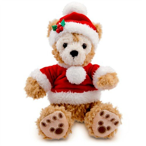 Duffy the Disney Bear Plush - Holiday - 9''
