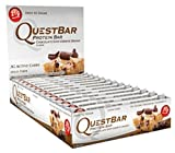 Quest Protein Bars - Chocolate Chip Cookie Dough - 2.12 Oz - Case Of 12