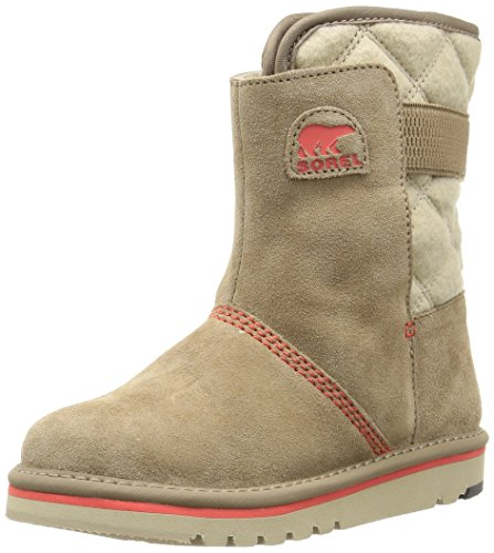 Sorel YOUTH NEWBIE, Stivaletti da neve a gamba corta, imbottitura pesante Unisex - bambino, Beige (Oxford Tan 212), 37 EU