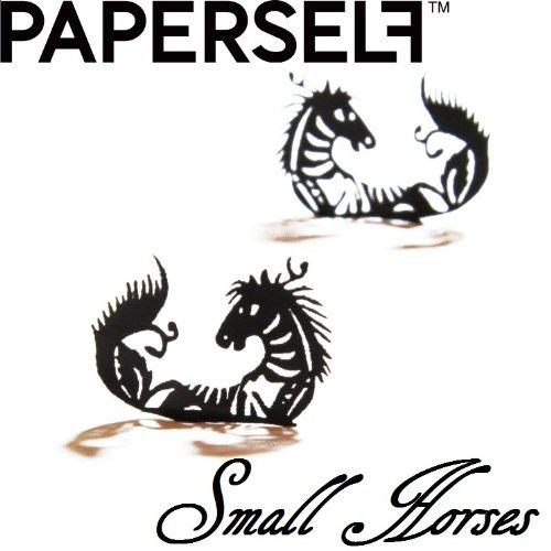 新感覚ペーパーアイラッシュPAPERSELF Smallーhorses 2ペア