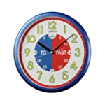 Lorus Time Teacher Wall Clock - Blue