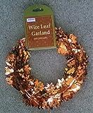 Autumn Leaves Wire Garland - 25 Feet