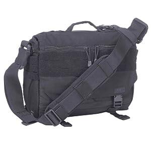 5.11 Rush Delivery Mike Padded Combat Messenger Laptop Shoulder Bag MOLLE Black