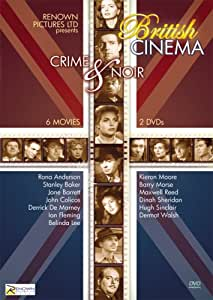 British Cinema: Renown Pictures Crime & Noir Blackout, Bond of Fear, Home To Danger, Meet Mr. Callaghan, No Trace, Recoil