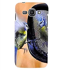 ColourCraft Lovely Bird Design Back Case Cover for SAMSUNG GALAXY ACE 3 LTE S727