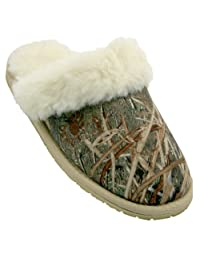 DAWGS Mossy Oak Men's Scuff Slippers