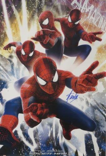 Stan Lee Signed Spiderman 2 Autographed 24X36 Movie Poster #Ab39373 -