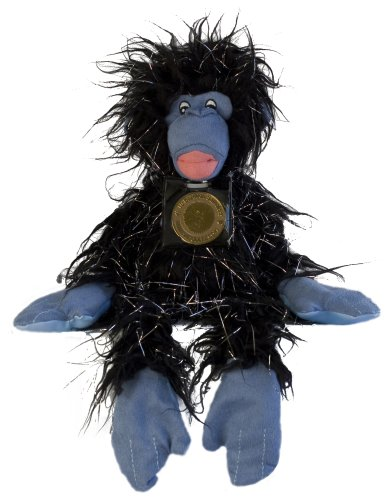 Skoodlez Gorilla - Boofus - Black with silver strands and Blue - 1