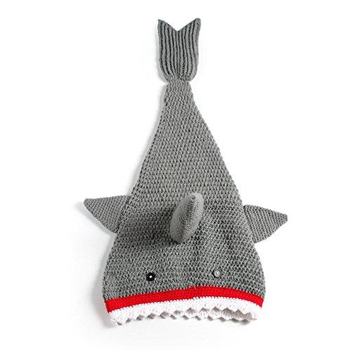 Handmade Shark Sack Blanket for Boys Girls, Feet Go in Fins, Perfect Little Mermaid Cute Gift for Kids, 15.7x35.4 Inch (Shark Sack compare prices)