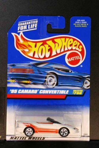 Hot Wheels Collector #796-'95 Camaro Convertible-w5sp - 1