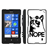 Nokia Lumia 635 Windows Phone Grumpy Cat Slim Guard Protect Artistry Design Case by Mobiflare