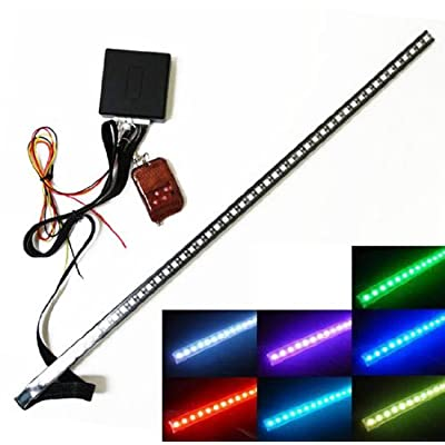 iJDMTOY JDM 20 inches 48-LED RGB LED Knight Rider Scanner Flash Lighting Bar For Car Interior or Exterior Decoration at Sears.com