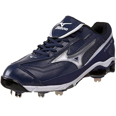 Mizuno 9-Spike Classic G6 Men's Low Switch Baseball Cleat 320378 (13.5, royal/white)