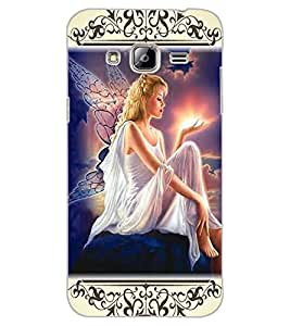ColourCraft Angel Design Back Case Cover for SAMSUNG GALAXY J3 (2016)