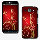 Design Collection Hard Phone Cover Case Protector For LG OPTIMUS G PRO E980 AT&T #1576