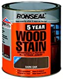Ronseal 5YWDO750 750ml 5 Year Woodstain - Dark Oak