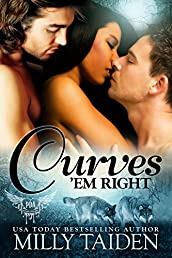 Curves 'em Right (BBW Paranormal Shape Shifter Romance) (Paranormal Dating Agency Book 4)