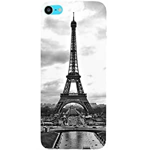 Casotec Paris City Design Hard Back Case Cover for Apple iPod Touch 6th Generation
