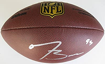 Tyler Boyd, Cincinnati Bengals, Pittsburgh Panthers, Signed, Autographed, NFL Duke Football, a COA with the Proof Photo of Tyler Signing Will Be Included with the Football