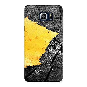 Cute Lonely Leaf Multicolor Back Case Cover for Galaxy Note 5