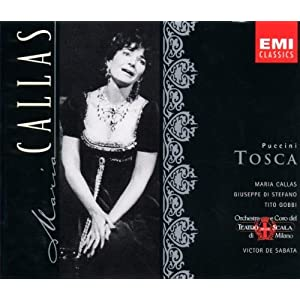 Puccini: Tosca (complete opera) with Maria Callas, Giuseppe di Stefano, Tito Gobbi, Victor de Sabata, Chorus & Orchestra of La Scala, Milan