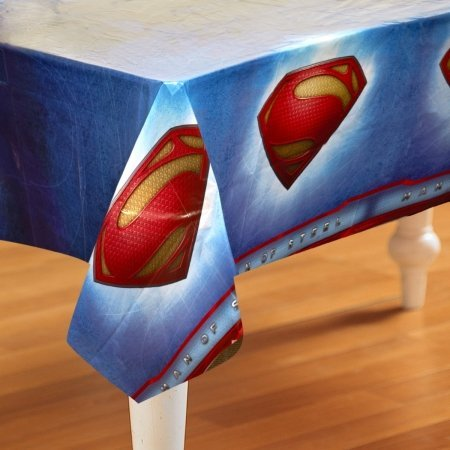 Hallmark 230342 Superman: Man of Steel Plastic Tablecover - 1