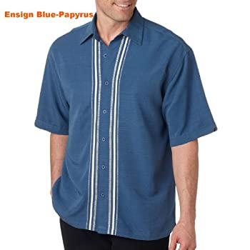 Cubavera adult vero camp shirt