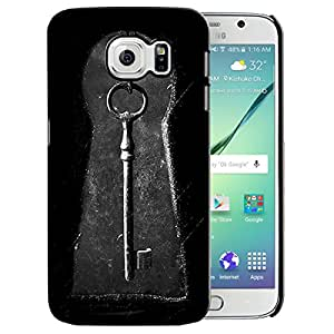 Theskinmantra Lock my key back cover for Samsung Galaxy S6 Edge Plus