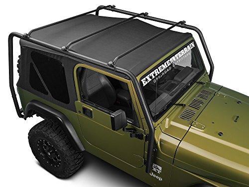Barricade J100172 TJ Roof Rack - Textured Black (Jeep Roof Rack Wrangler compare prices)