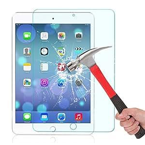 Niccou Apple iPad mini 4 タブレット PC用 ケース  ナノ 強化ガラス 液晶保護フィルム スクリーン プロテクター 高鮮明・防爆裂・スクラッチ防止・気泡ゼロ・指紋防止対応 硬度9H