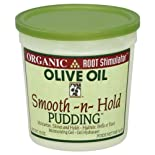 Organic Root Stimulator Moisturizing Gel, Smooth-N-Hold Pudding, Olive Oil, 13 oz