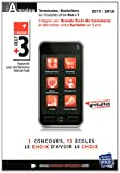 echange, troc Studyrama - Annales Atout +3 concours 2011 : Sujets et corrigés officiels
